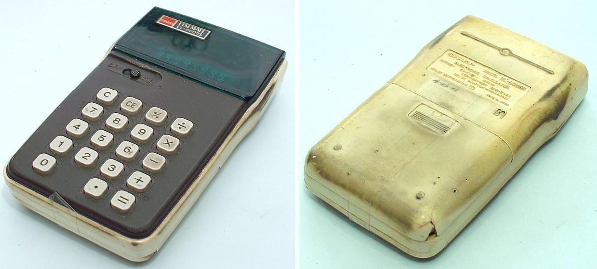 Wer besitzt denn noch seinen ersten Taschenrechner?