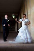 Wer fängt den Brautstrauß ???