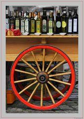 Wer gut ölt, der gut fährt... ach ne, ist ja olivenöl ....das gut schmeckt.