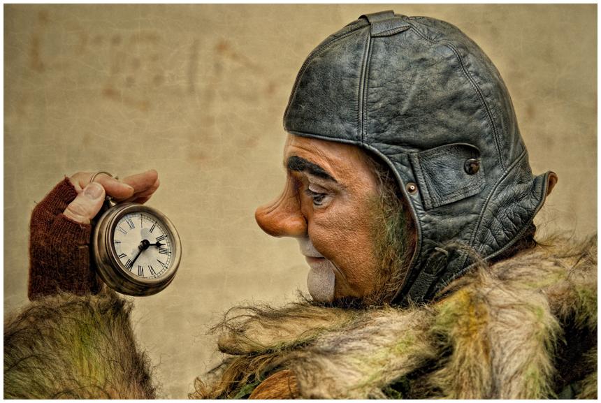 ...wer hat an der Uhr gedreht?