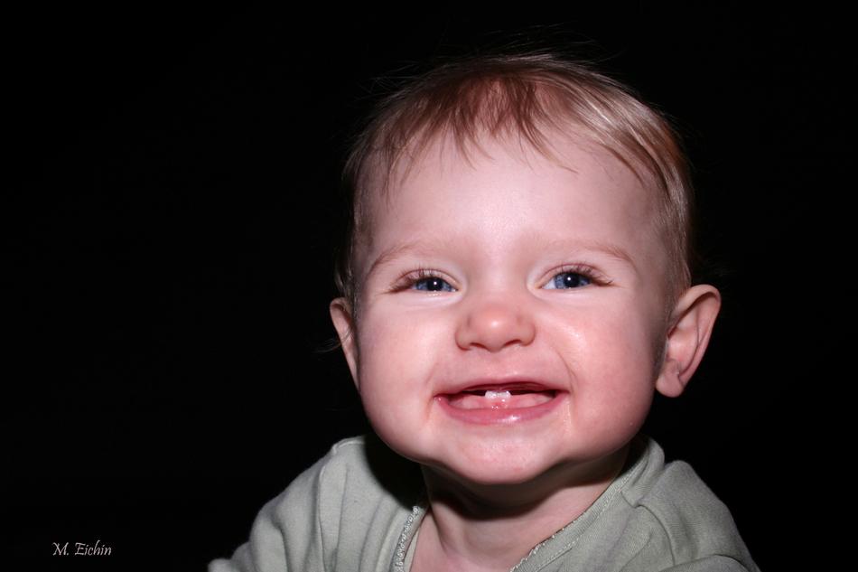 Wer könnte diesem Lächeln widerstehen....