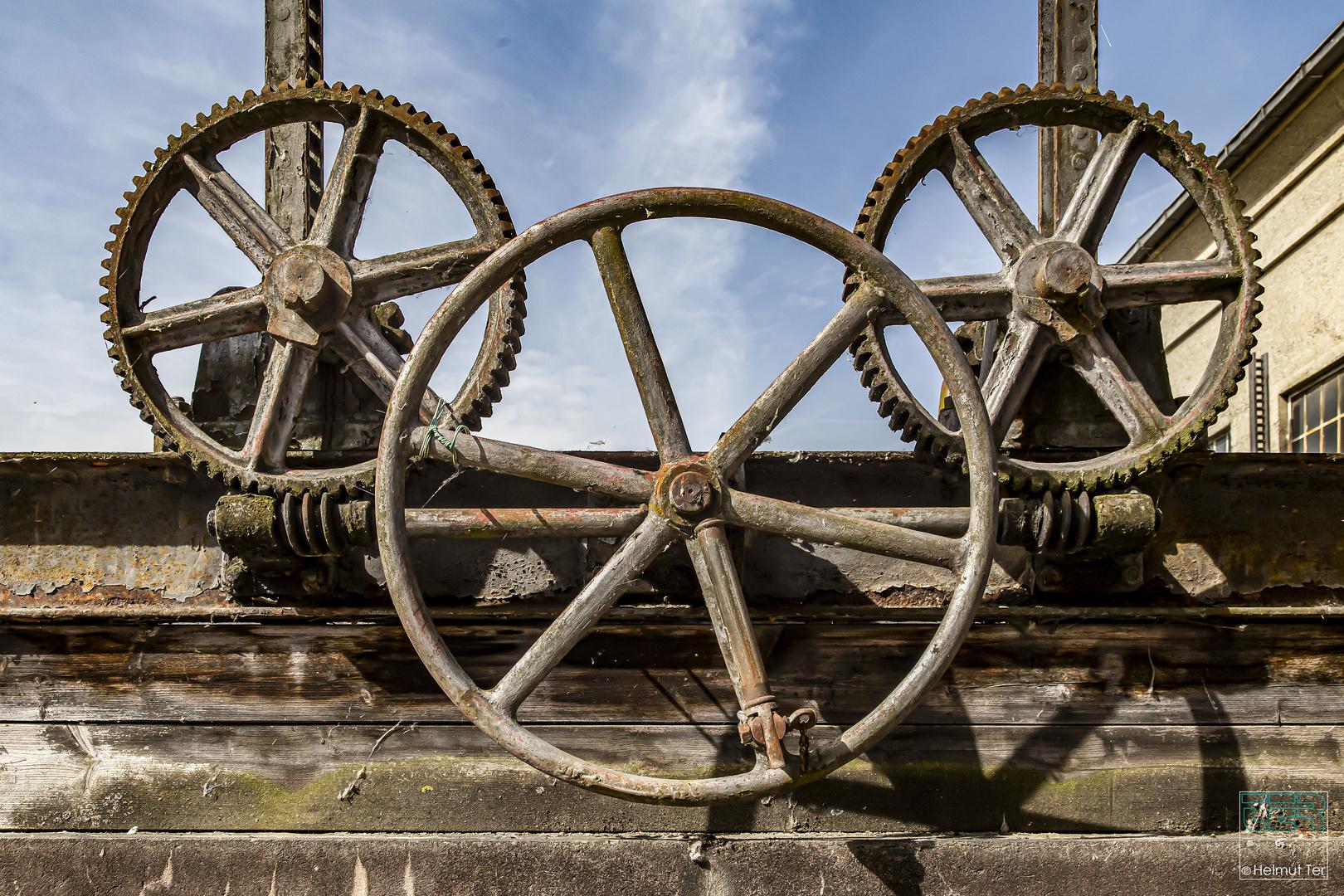 Wer möchte nicht gern mal am großen Rad drehen?