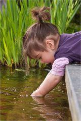 Wer sein Ziel erreichen will, muss tief ins Wasser greifen