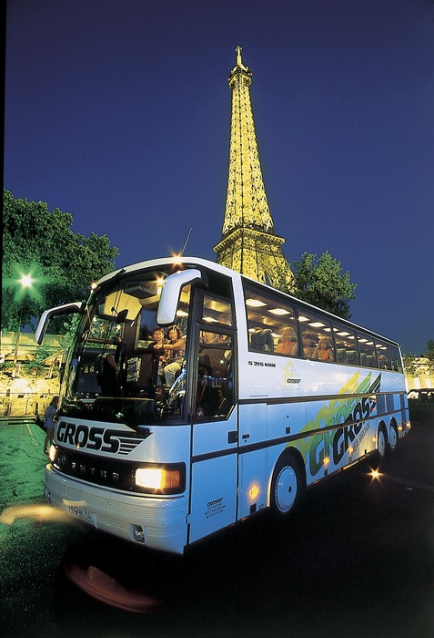 Werbefoto GROSS Reisebus