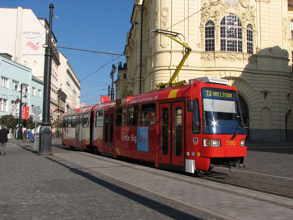 Werbetrams in Bratislava 3