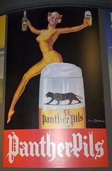 Werbung für Bier in früheren Zeiten