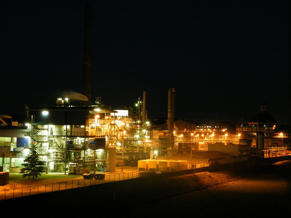 Werk bei Nacht