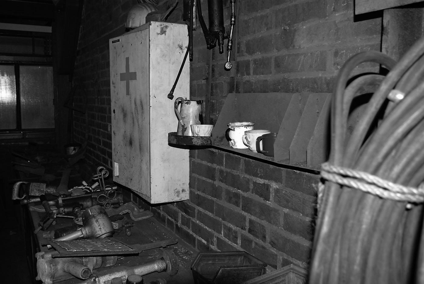 Werkbank in der Zeche Zollverein