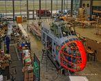 Werkstatt der Flugzeugwerft des Deutschen Museum