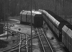 Werksverkehr im Stahlwerk II