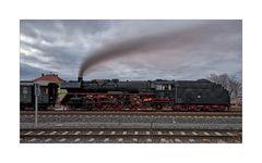 """Wernigerode """" der Sonderzug 031010 vor der Abfahrt...."""""""