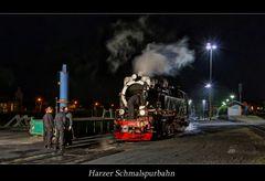 """Wernigerode """" Harzer Schmalspurbahn, ein Tag geht zuende*...."""""""