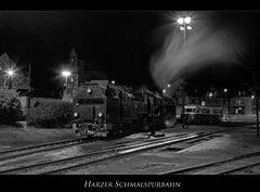 """Wernigerode """" Harzer Schmalspurbahn, unter Dampf...."""""""