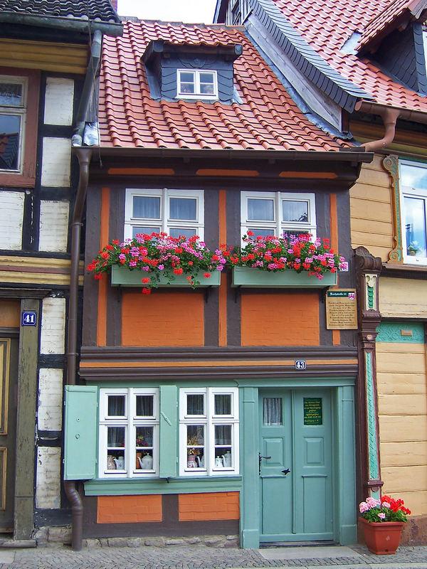 Wernigerode Kleinstes Haus Foto & Bild