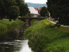 Weschnitzbrücke in Einhausen, Südhessen