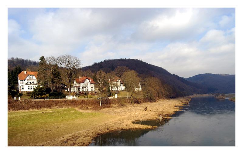 Weser bei Bad Karlshafen