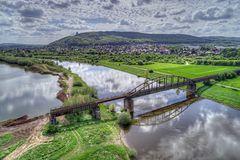 Weser Eisenbahnbrücke 27-04-2018  086_87_88_89_90_Enhancer_pt