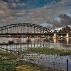 Weser im Abendlicht