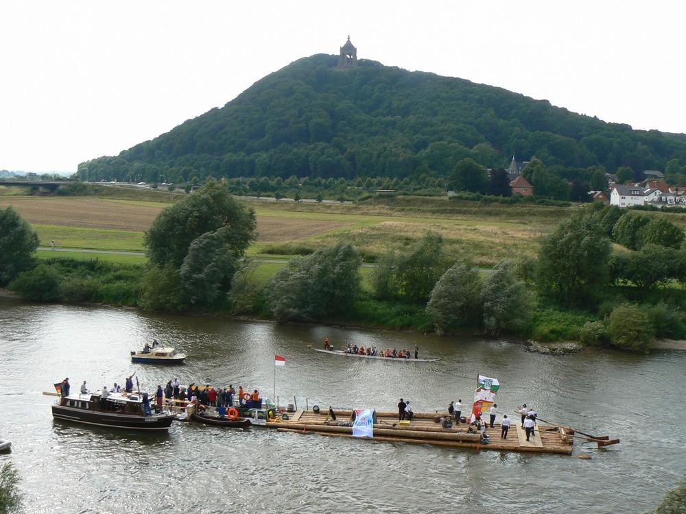 Weserfloss 2008