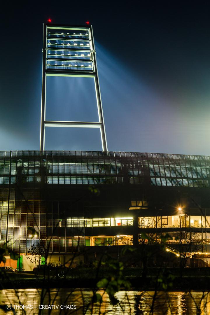 Weserstadion Flutlicht