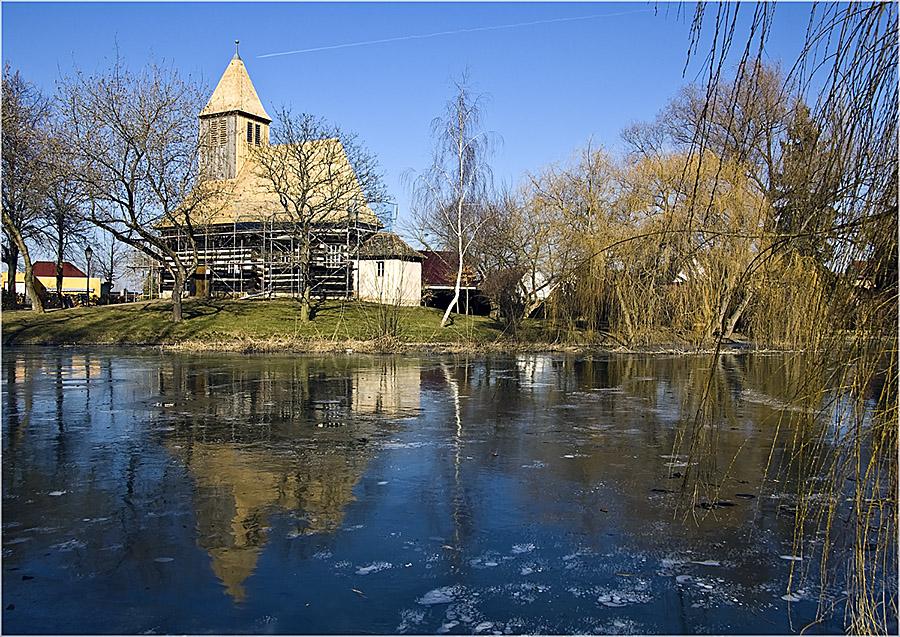 Wespen, Schrotholzkirche