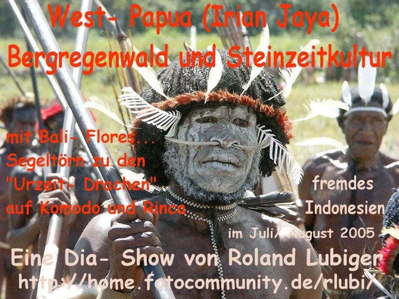 West Papua- Komodo- Indonesien