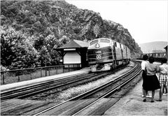 Westbound at Harpers Ferry