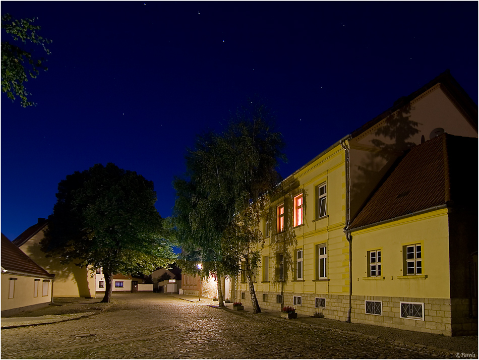 Westeregeln bei Nacht