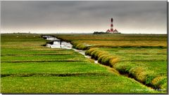 Westerhever Leuchtfeuer HDR