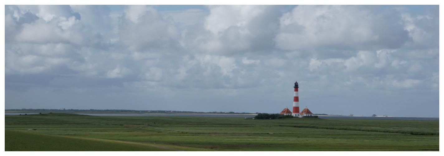 Westerhever Leuchtturm Juli 2010
