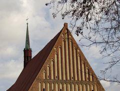 Westgiebel der Mönchskirche (13. Jh.) in Salzwedel