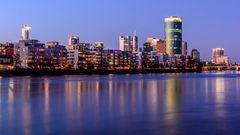 Westhafen 2020 Abend