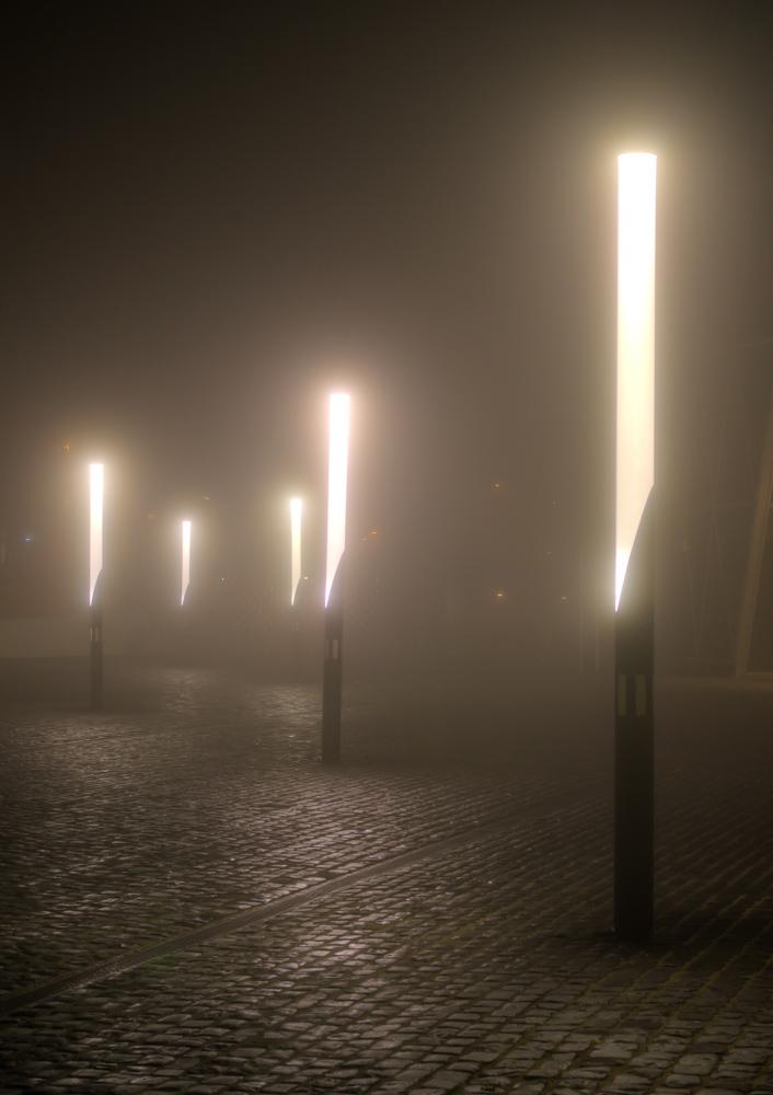 Westhafen Nebel
