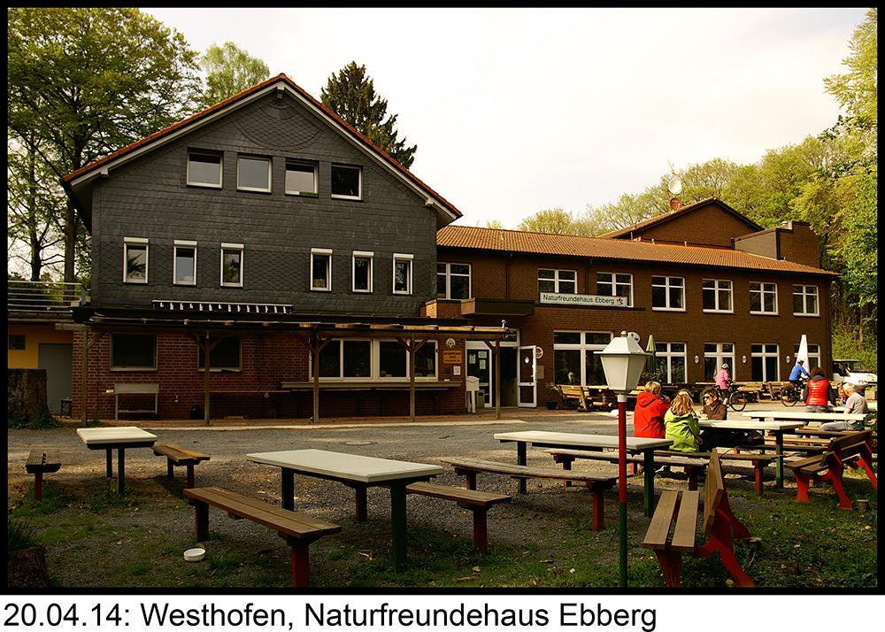 Westhofen, Naturfreundehaus Ebberg