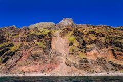 Westküste von Alicudi, Liparische Inseln, Sizilien