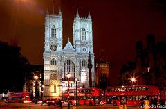 Westminster Abbey bei Nacht