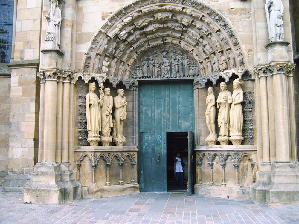 Westportal Liebfrauenkirche in Trier