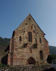 Westseite der Ersheimer Kapelle