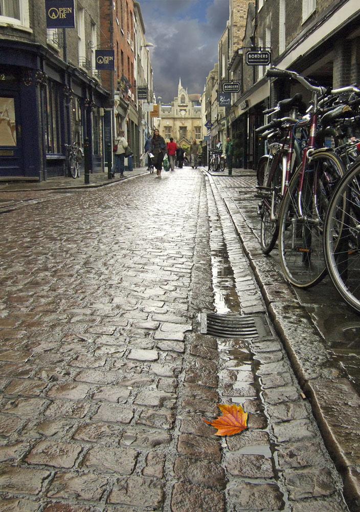 Wet Cambridge Street
