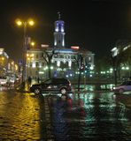 wet evening II