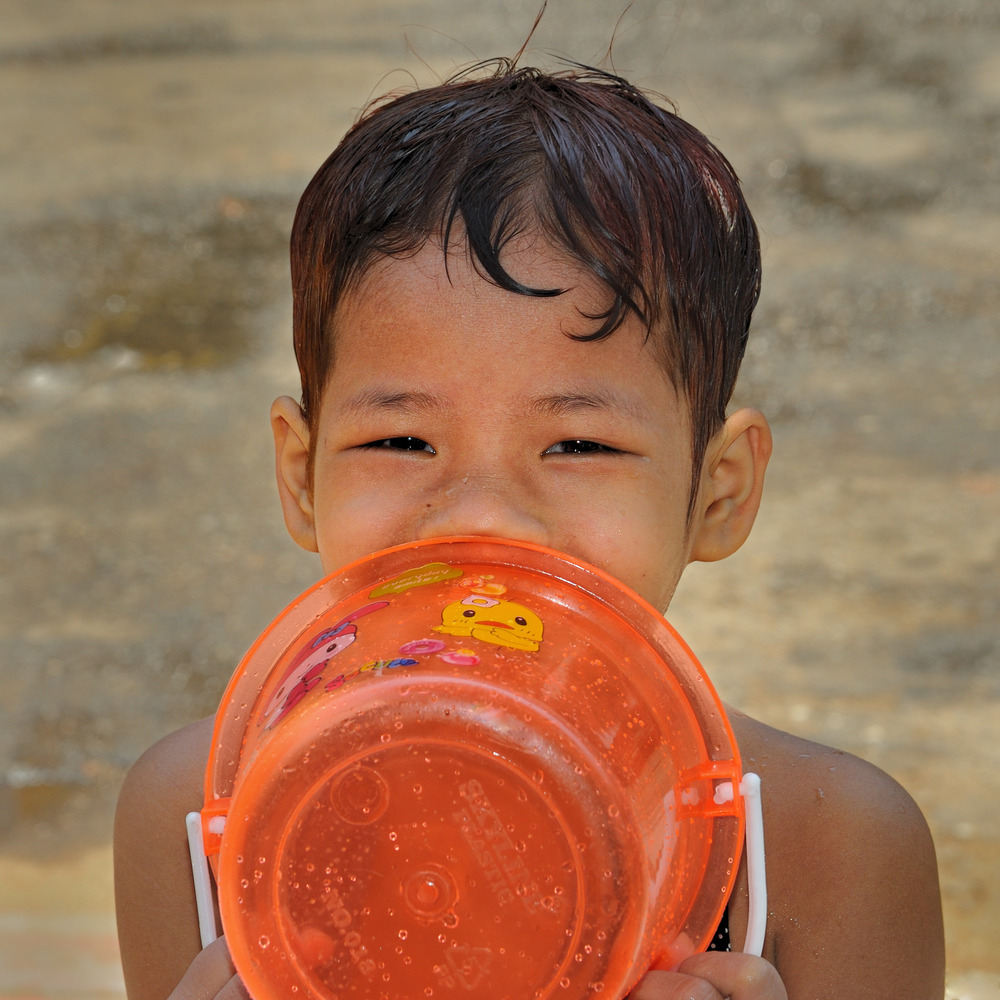 Wet Girl of Yangon