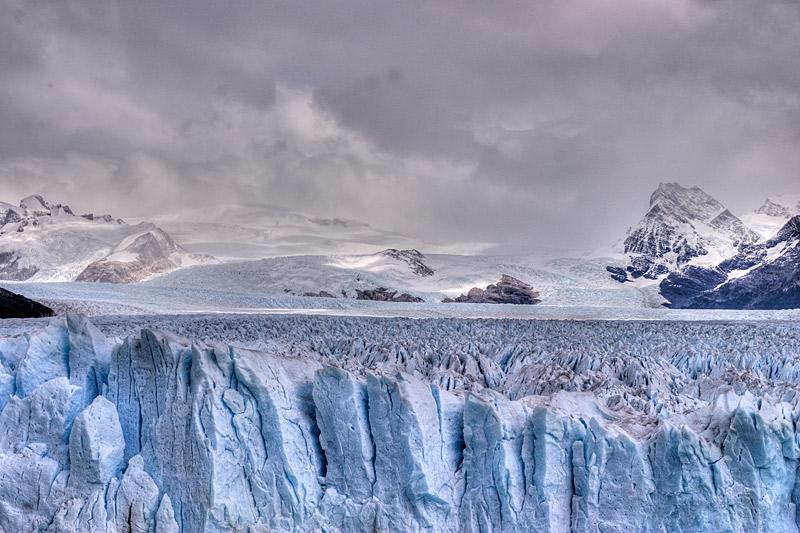 Wetter am Perito Moreno