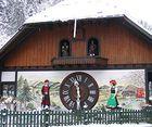 Wetter Haus im Schwarzwald