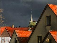 Wetter während Fensterrenovierung