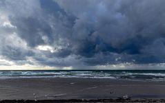 Wetterfront über die Ostsee