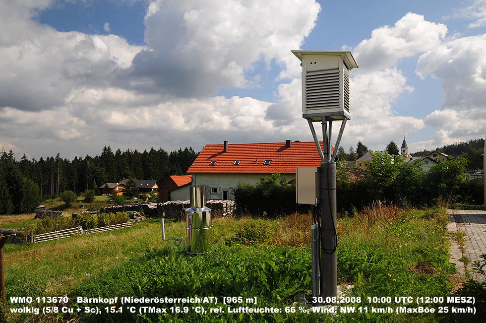 Wetterpostkarte Waldviertler Hochland
