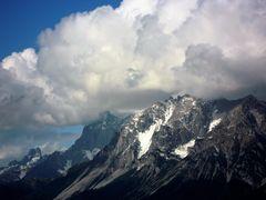 Wetterumschwung am Dachsteinmassiv