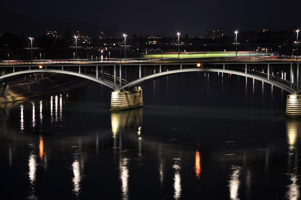 Wettsteinbrücke in Basel