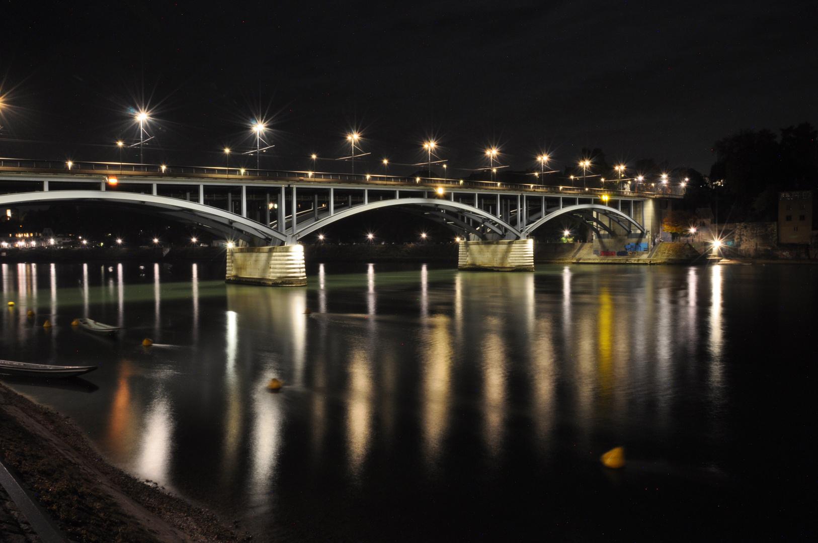 Wettsteinbrücke @ Night