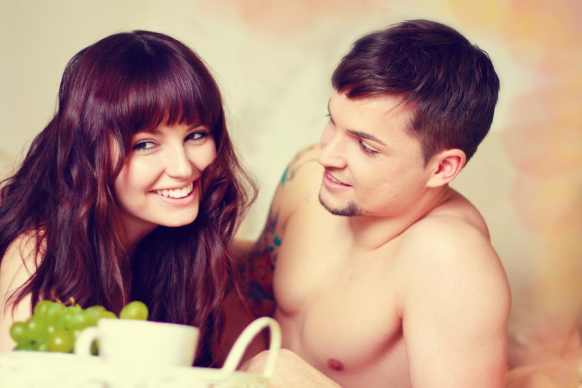 what a morning - saskia + boyfriend